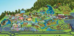 Mapa do Parque   Beto Carrero World