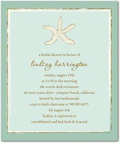 Sea Breeze - Studio Basics: Bridal Shower Invitations - Wedding Paper Divas Studio Basics - Aloe - Green : Front