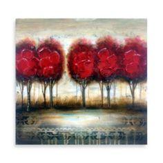 Red Tree Wall Art II - BedBathandBeyond.com $20 (master bath?)