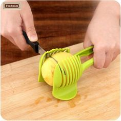 Vegetable Slicing Aid
