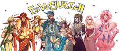 EEVEELUTION :3 by Kibbitzer