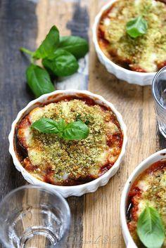 Parmigiana d'aubergines légère Plus