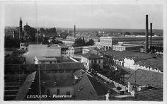 Legnano, Panorama della città di Legnano dall'ex Cotonificio Cantoni. #Legnano #Factory #Industria #Città