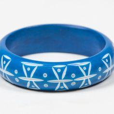 Splendette French Blue Bangle
