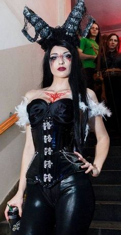 Miss Andrea Dolores Gothic Models, Heavy Metal, Cosplay, Style, Fashion, Templates, Nice Asses, Women's, Swag