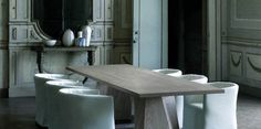 Rectangular table WEDGE By Living Divani design Arik Levy Space Furniture, Furniture Decor, Modern Furniture, Divani Design, Living Divani, Dining Room Inspiration, Contemporary Sofa, Outdoor Dining, Dining Chairs