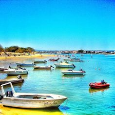 Dreamy colors at #Ilha (Island) de Tavira #Algarve