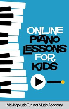 Want fun and affordable online piano lessons for your kids? Try the Online Piano Lessons your kids will LOVE. Your kids will learn more than songs! They'll become smarter, more confident, well-rounded musicians. Beginner Piano Lessons, Piano Lessons For Kids, Music Lessons, Kids Piano, Music Theory Games, Music Theory Worksheets, Music Flashcards, Music Lesson Plans, Music Education