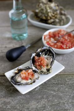 After trying the incredible oysters at Nobu years ago, I had to make my own Nobu salsa. If you love oysters, you HAVE to try this! From EatingRichly.com