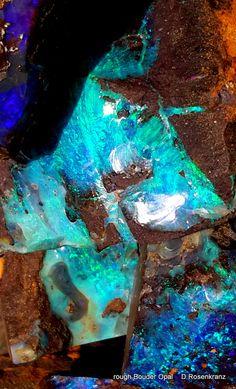 rough Boulder Opal