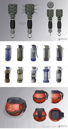 Grenades Props-04 by TheCab - Game: Brink