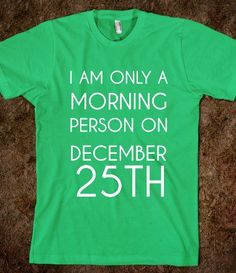IAM ONLY A MORNING PERSON - glamfoxx.com - Skreened T-shirts, Organic Shirts, Hoodies, Kids Tees, Baby One-Pieces and Tote Bags