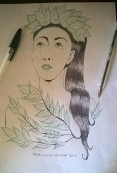 Lady Leaf #lady #leaf #natura #nature #green