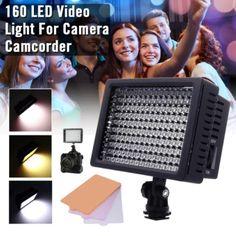 ราคาถูก  XCSource 160 LED ไฟส่องสว่างหรี่ได้ สำหรับ Canon Nikon DSLR CameraCamcorder DV  ราคาเพียง  695 บาท  เท่านั้น คุณสมบัติ มีดังนี้ ด้วย&ไฟ 160 &LED ช่วยให้มั่นใจได้ว่าคุณตั้งค่าภาพได้สมบูรณ์แบบ จับคู่กับ 3&ฟิลเตอร์ การปรับความสว่าง