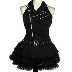 Back To School Emo Goth Visual Kei Pencil Dresses Cute