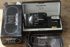 Olympus xa 35 mm lens kit 35mm rangefinder film #camera #boxed with #flash,  View more on the LINK: http://www.zeppy.io/product/gb/2/291667540533/