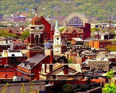Over-the-Rhine historic district in Cincinnati, Ohio