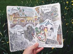 Travel Diaries: Europe (II) on Behance