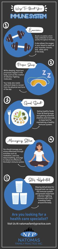 Here are some ways to Boost Your Immune System!