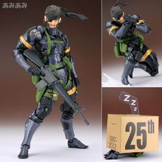 AmiAmi [Character & Hobby Shop] | Revoltech Yamaguchi No.131 Metal Gear Solid: Peace Walker - Snake(Released)