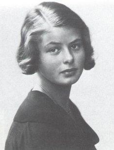 Ingrid Bergman, une très grande actrice de cinéma.