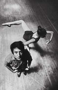 Dustin Hoffman by Ara Güler. Woosh, Dustin Hoffman. I'd forgotten what you looked like in The Graduate.