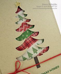 Stampin' Up! Warmth & Cheer Washi Tape & Santa's Sleigh Bundle card…