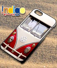 VW Minibus red   iPhone 4/4s/5/5s/5c Case  Samsung by indigoStlye, $15.00