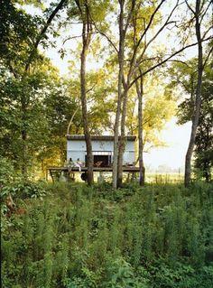 Prefab Cabins, Prefab Homes, Earthship, Nachhaltiges Design, House Design, Modern Design, Interior Design, Nature Architecture, Cabin In The Woods