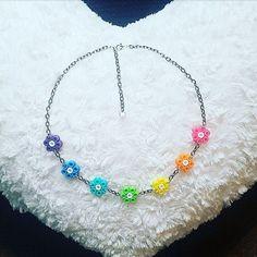 Necklace hama beads by handmadelovealex