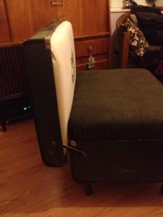 The Recreate Anything Suitcase Chair