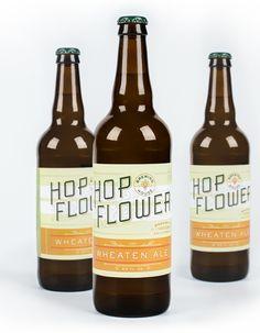 Hop Flower Brewing House // integrated branding program by CDA // chendesign.com