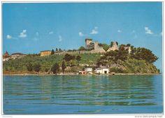 Italien - K2384 Castiglione del Lago (Perugia) - Panorama dall Trasimeno / non viaggiata
