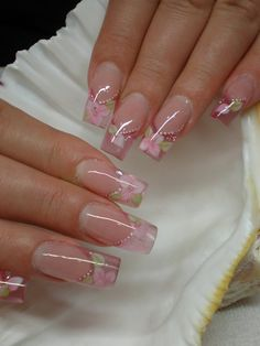 Classy Acrylic Nails, Classy Nails, Stylish Nails, Pretty Toe Nails, Pretty Nail Colors, Fabulous Nails, Gorgeous Nails, Long Nail Designs, Nail Art Designs
