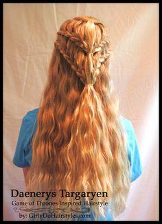 http://www.girlydohairstyles.com/2014/10/daenerys-targaryen-inspired-hairstyle.html