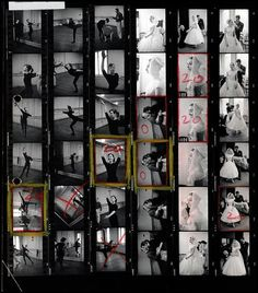 Magnum Contact Sheet Prints tell as much of a story as the single image that goes on to become iconic: they reveal the befores, the afters, and the almost theres, that surround some of the most iconic