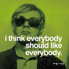 Everybody Art Print by Andy Warhol at Art.com