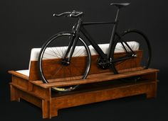 Chol1 S1llon Sofa Comes With A Handy Bike Mount In The Back