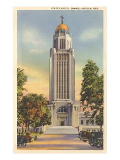 State Capitol Tower, Lincoln, Nebraska