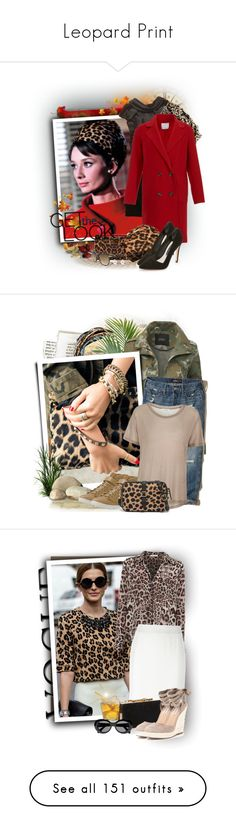 """""""Leopard Print"""" by tasha1973 ❤ liked on Polyvore featuring St.Emile, Black, TIBI, Christian Louboutin, Topshop, Alice + Olivia, Kenneth Cole, LE3NO, Hollister Co. and Teva"""