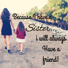 Sister Quote ❤️