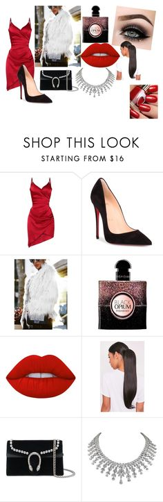 revegion by demetra-alfa on Polyvore featuring Christian Louboutin, Gucci, Lime Crime, Yves Saint Laurent and ASAP
