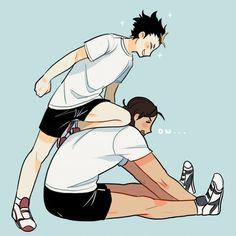 Haikyuu!! Noya & Asahi