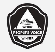 Webby people's voice