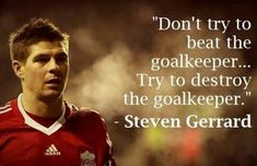 22 quotes by Steven Gerrard on Soccer, Fans and Liverpool Liverpool Fc Badge, Liverpool Fc Champions League, Barcelona Champions League, Liverpool Football Club, Liverpool Players, Football Team, Steven Gerrard Liverpool, Messi, Neymar