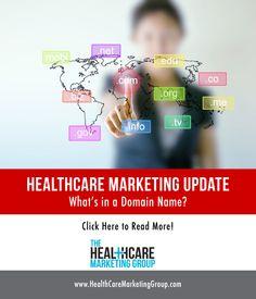 Healthcare Marketing Update: Effective Domain Names http://healthcaremarketinggroup.com/blog/healthcare-marketing-domain