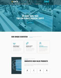 Zidex - Industrial & Factory WordPress Theme - ModelTheme Biology, Wordpress Theme, Innovation, Medical, Industrial, Health, Health Care, Medicine, Industrial Music