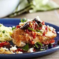 Pan-Seared Mediterranean Chicken - Allrecipes.com