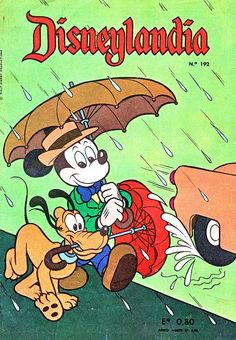 Disneylandia Nº192 x Jose Luis Galarce de Chile y Sergio Arakaki de Chile