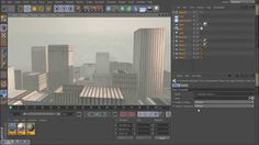 Cinema 4D -How to create a whole city in 5min?, NO PLUGINS!, NO MODELING...